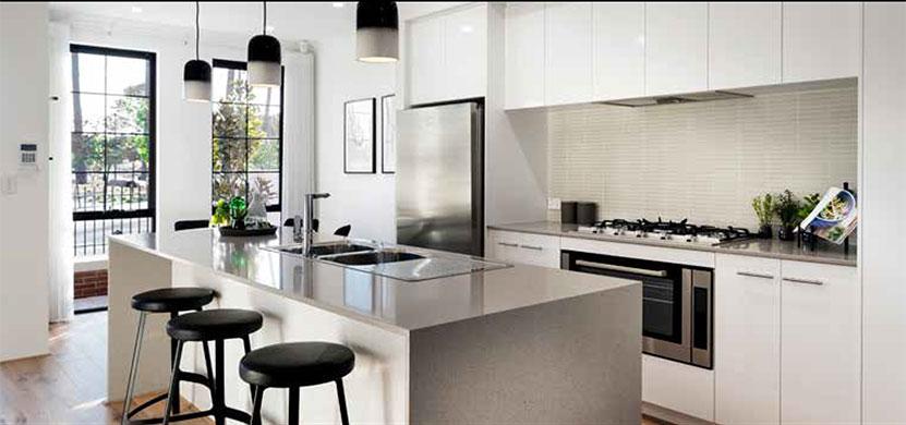 Terrace House & Land Kitchen