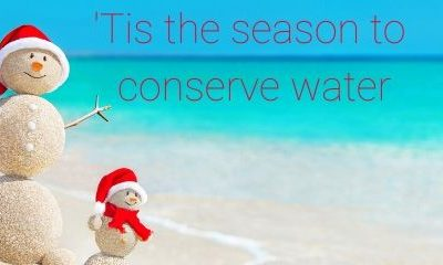 'Tis the season to conserve water