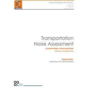 Transportation-Noise-Assessment