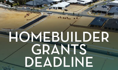 HomeBuilder Grants Deadline
