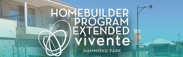 HomeBuilder Program Extended