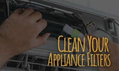 Cleaning Your Appliance Filters