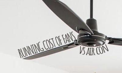 Running Cost of Fans vs Air Con