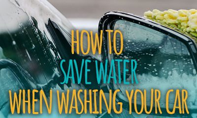 How to Save Water When Washing Your Car